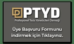 PTDY Üye Başvuru Formu logo