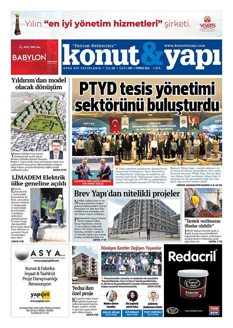 konut yapı gazetesi PTYD